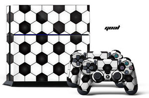 Designer Skin PS4 Playstation 4 Console + Controller Decals Football SOCCER GOAL