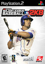 Major League Baseball 2K8 (PlayStation 2) PS2 NEW