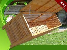 Cassapanca baule box in legno per esterno giardino  L 170 x 58 x 50 cm