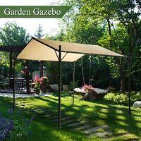 10x10FT Heavy Duty Carport Canopy Garage Car Shelter Tent Garden Gazebo Poly UV