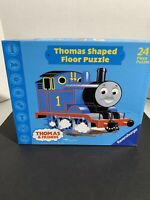 2002 Ravensburger Thomas and Friends Thomas Shaped Floor Puzzle 24 Pieces