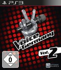 SONY PS3 The Voice of Germany Vol. 2 PlayStation 3 deutsch gebraucht OVP gut erh