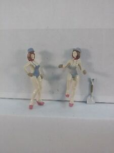 Arttista Fantasy Engine Crew #2 - #1571 - O Scale On30 On3 Figures People - New