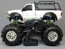 Custom Built 1/10 R/C Tamiya Juggernaut 2 Ford F350 w/ Lots Upgrade ESC Spektrum
