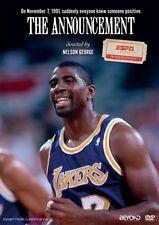 ESPN 30 For 30: The Announcement NEW DVD (Region 4 Australia) Magic Johnson HIV