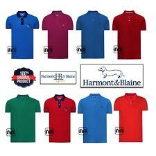 New Men $260 Original Harmont & Blaine Polo T Shirt Colors S M L XL 2XL 3XL 4XL