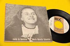 """MARIA NOVELLA GALANTINI 7"""" EP 5 CANZONI ORIG '60 EX COPERTINA APRIBILE"""