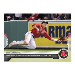 2021 Topps Now #987 Hunter Renfroe Boston Red Sox PRESALE
