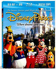 Disneyland Disney World Parks Vacation Planning Tips Blu-ray DVD & Digital Copy