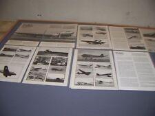 VINTAGE..DOUGLAS DC-3 HISTORY (PART 1-4)..HISTORY/PHOTOS/VARIANTS..RARE! (496J)