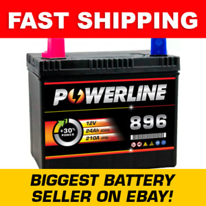 12V 896 Powerline BATTERY WITH 2 YEAR WARRANTY
