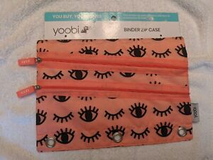 Yoobi Binder Zipper Cases You Pick