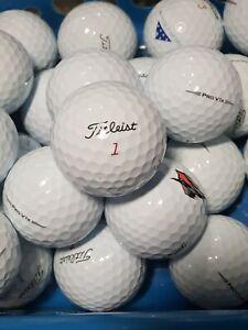 2 Dozen Titleist Pro V1X 2019  Golf Balls AAAAA/AAAA