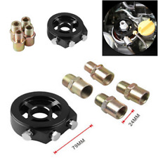 Oil Filter Temp Pressure Cooler Sandwich Plate Adapter Sensor Fits most Vehicles
