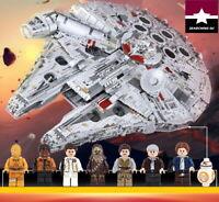 MILLENNIUM FALCON 8445 PCS 05132 COMPATIBLE LEGO HALCON MILENARIO STAR WARS