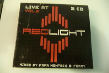 LIVE AT REDLIGHT VOL.II - COMPILATION 2CD MIXED BY FAFA MONTECO & TERRY.