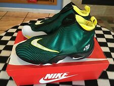 NIKE AIR ZOOM FLIGHT THE GLOVE QS SOLE COLLECTOR Size 13 GARY PAYTON 630773 300