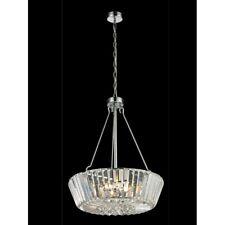 Dale Tiffany Crystal Palace Chandelier, Polished Chrome - GH13364