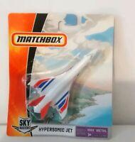 MATCHBOX SKY BUSTERS - HYPERSONIC JET - K7503 - SEALED BLISTER PACK