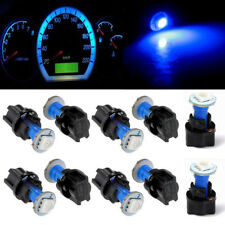 10x Blue PC74 T5 LED Twist Socket Blue Instrument Panel Cluster Plug Dash Lights
