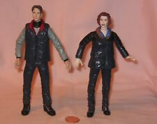 FBI Agent Scully & Mulder Figures From X-Files; By Mcfarlane Toys 1998