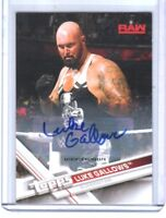 WWE Luke Gallows 2017 Topps Authentic Autograph Card SN 79 of 99
