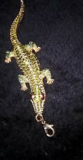 BUTLER & WILSON Rare ALLIGATOR Rhinestones CROCODILE Swarovski Vintage Necklace