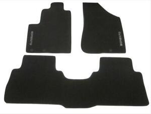 OEM 2012 2013 Kia Sorento Carpet Floor Mats 3 Three Piece Black 1UF14AB400