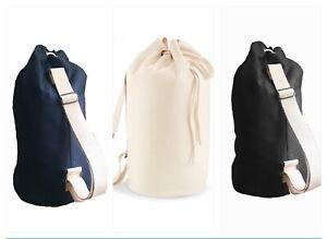 SAILOR BAG - ORGANiC COTTON, gym bag men, beach bag men, Duffel bag men, laundry