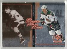 Ted Lindsay & Keith Tkachuk 1999-00 UD Century Legends Essence of the Game