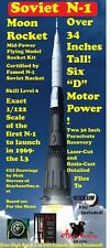 20%OFF SALE!  Soviet N1 Model Rocket 1/122 Scale  Perfect For NARAM 61!