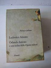 ORLANDO FURIOSO( 2VOL) PARNASO ITALIANO-EINAUDI 1962