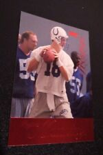 1998 Peyton Manning Prestige Retail Red Rookie #165 Indianapolis Colts