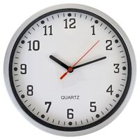 Vintage Round Quartz Wall Hanging Clock Modern Home Retro Analogue Face Time
