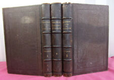 M. de Villemain. Cours de Littérature + Souvenirs contemporains 3 vols 1862