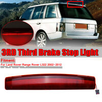 For Land Rover Range Rover L322 02-12 Rear Tailgate Spoiler Brake Light LED Stop