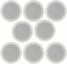 """8 x Altavoz de techo Altavoces Estéreo dual de Easy Fit 100W Max 6.5"""" 16.5cm 952.537"""