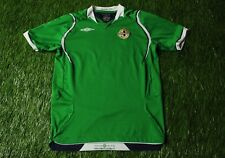 NORTHERN IRELAND NATIONAL TEAM 2008/2010 FOOTBALL SHIRT JERSEY HOME UMBRO YOUNG