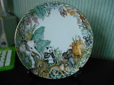 Coalport Fine Bone China plaque animaux sauvages du monde-Asie Made in England