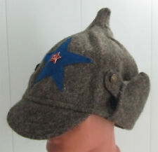 Winter helmet Soviet soldier of NKVD troops - replica