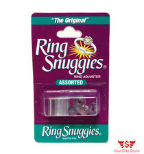 Ring Sizer Jewelry Ring Snuggies Guard Assorted Sizes Adjuster Set Pack of 6