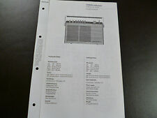 Original Service Manual Siemens Koffersuper Club de Luxe RK 381