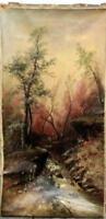 "18th Century William Henry Chandler ""mountain stream"" ( 1854-1928)"