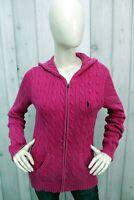 RALPH LAUREN Taglia L Maglione Donna Sweater Cotone Pullover Woman Maglietta
