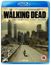 Walking Dead Complete Series 1 Blu Ray All Episodes 1st First Season UK Release