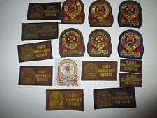 emergency services Queensland  obsolete insignia amd variants