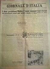 IL NUOVO GIORNALE D'ITALIA 29 MAGGIO 1948 - LA GUERRA IN PALESTINA - N. 790