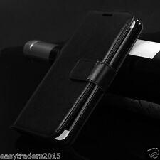 Véritable Luxe En Cuir Flip La Couverture De L'affaire Wallet Pour Samsung