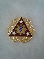 Authentic US Army 3rd Combat Support Hospital Unit DI DUI Crest Insignia G-23