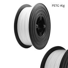 1kg 1,75mm PETG Filament Weiß 3D Drucker Printer Spule Rolle 1000g PET-G Weiss